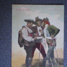 Postkarten - CASTILLA L. SALAMANCA CHARRO Y JITANOS POSTAL ANTIGUA DE LAURENT - 45670966