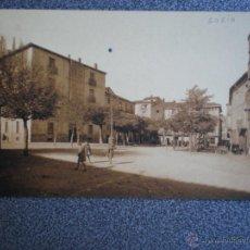 Postales: CASTILLA L. SORIA PLAZA DEL VIZCONDE DE EZA POSTAL CIRCULADA EN 1934. Lote 45671360