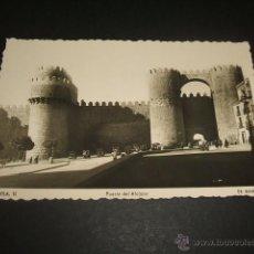 Postales: AVILA PUERTA DEL ALCAZAR. Lote 45676573