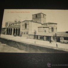 Postales: AVILA PORTICOS DE SAN VICENTE. Lote 45677801