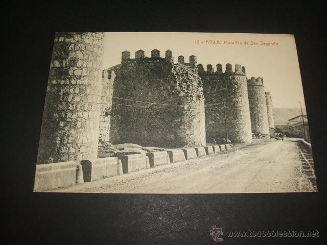 AVILA MURALLAS DE SAN SEGUNDO (Postales - España - Castilla y León Antigua (hasta 1939))