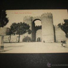 Postales: AVILA ARCO DE SAN VICENTE. Lote 45677845