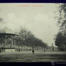 Postales: POSTAL DE VALLADOLID. Nº3. CAMPO GRANDE. EDITADA POR F.ZAPATERO. AÑO 1914. Lote 45773085