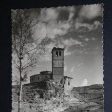 Postales: ANTIGUA FOTO POSTAL DE SEGOVIA. IGLESIA DE LOS TEMPLARIOS. ED. GARCIA GARRABELLA. SIN CIRCULAR. Lote 45860661