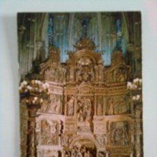 Postales: SORIA: BURGO DE OSMA. CATEDRAL, RETABLO MAYOR. Lote 45950636
