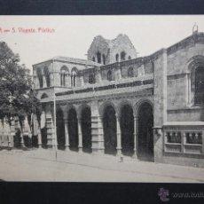 Postales: ANTIGUA POSTAL DE ÁVILA. SAN VICENTE, PÓRTICO. ED. A. MEDRANO. SIN CIRCULAR. Lote 45956896