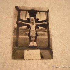 Postales: LEON . MUSEO PROVINCIAL . CRUCIFIJO SIGLO XI. Lote 46005977
