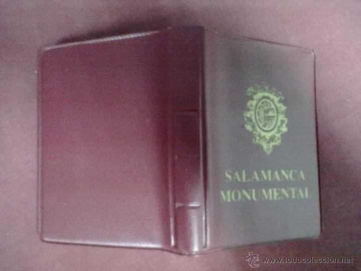 LIBRO POSTALES SALAMANCA MONUMENTAL 18 POSTALES (Postales - España - Castilla y León Moderna (desde 1940))