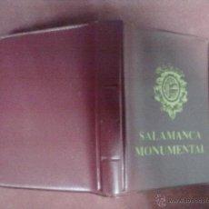 Postales: LIBRO POSTALES SALAMANCA MONUMENTAL 18 POSTALES. Lote 46057127