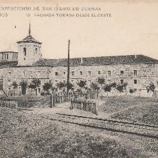 Postales: Nº 16267 POSTAL ABADIA CISTERCIENSE DE SAN ISIDRO DE DUEÑAS VENTA DE BAÑOS PALENCIA. Lote 46126719