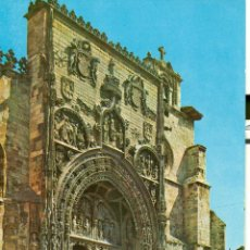 Postales: ARANDA DE DUERO. FACHADA DE SANTA MARIA. Lote 46135336
