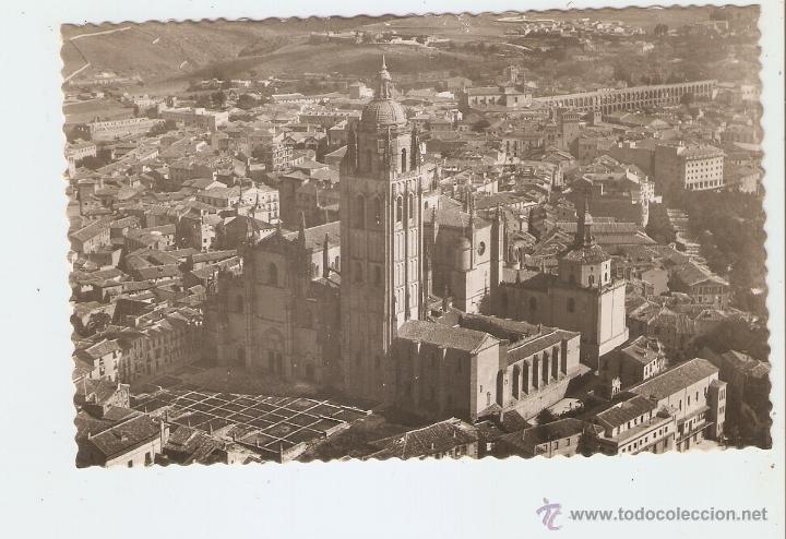 SEGOVIA. SEGOVIA AEREA. LA CATEDRAL (Postales - España - Castilla y León Moderna (desde 1940))