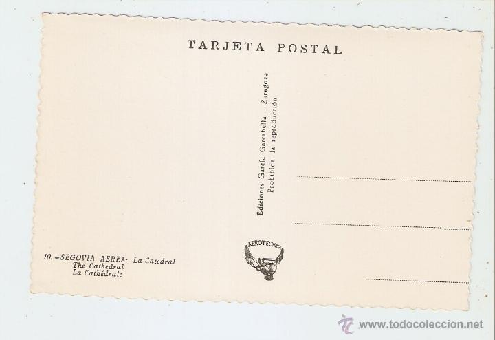 Postales: SEGOVIA. SEGOVIA AEREA. LA CATEDRAL - Foto 2 - 46334486