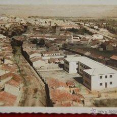 Postales: POSTAL BENAVENTE ZAMORA. COLOREADA. VISTA PANORÁMICA. ED. ARRIBAS. Lote 46380028