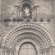 Postales: Nº 18660 POSTAL TORO ZAMORA PORTADA DE LA COLEGIATA HAUSER Y MENET. Lote 46498861