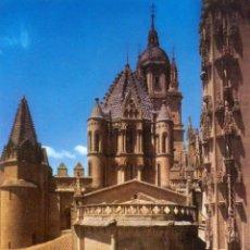 Postales - SALAMANCA. CATEDRAL VIEJA. ABSIDE Y TORRE DEL GALLO - 46513179