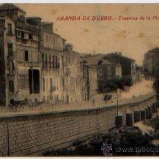 Postales: POSTAL ARANDA DE DUERO TRASERAS DE LA PLAZA MAYOR BURGOS ED. ESPINAR. Lote 46540658
