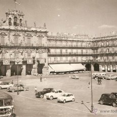 Postales: SALAMANCA Nº9 PLAZA MAYOR SALVADOR BARRUECO - MADRID SIN CIRCULAR. Lote 46567915