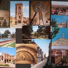 Postales: LOTE DE 12 POSTALES DE PALENCIA, SIN CIRCULAR DE LOS AÑOS 60. . Lote 46789908