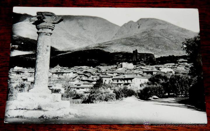 FOTO POSTAL DE SAN ESTEBAN DEL VALLE (AVILA), VISTA DESDE EL ROLLO, NO CIRCULADA., NO PONE EDITORIAL (Postales - España - Castilla y León Antigua (hasta 1939))