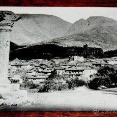 Postales: FOTO POSTAL DE SAN ESTEBAN DEL VALLE (AVILA), VISTA DESDE EL ROLLO, NO CIRCULADA., NO PONE EDITORIAL. Lote 46812042