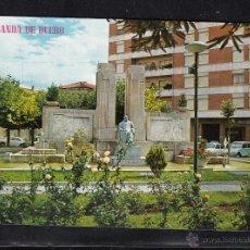 Postales: 423 - ARANDA DE DUERO. MONUMENTO A D. DIEGO ARIAS DE MIRANDA. Lote 46910056
