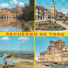 Postales: Nº 21343 POSTAL ZAMORA TORO. Lote 47107114