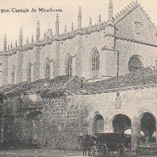 Postales: Nº 22930 POSTAL BURGOS HAUSER Y MENET CARTUJA DE MIRAFLORES CARRUAJE. Lote 47419492