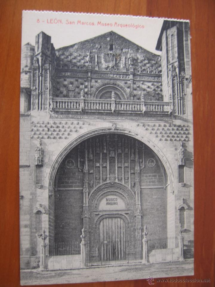 postal león san marcos museo arqueológico nº 8 - Comprar Postales ...