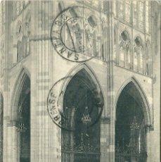 Postales: CRUCERO DE LA CATEDRAL DE LEON- ORIGINAL AÑO1915. Lote 47619990