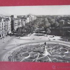 Postales: VALLADOLID. PLAZA ZORRILLA Y AVENIDA GENERALISIMO FRANCO. (ED. POSTAL MADRID).. Lote 47871202