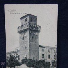 Postales: POSTAL SIN CIRCULAR SEGOVIA TORREÓN DE ARIAS DÁVILA ED FOTOTIPIA DE HAUSER Y MENET . Lote 48194396