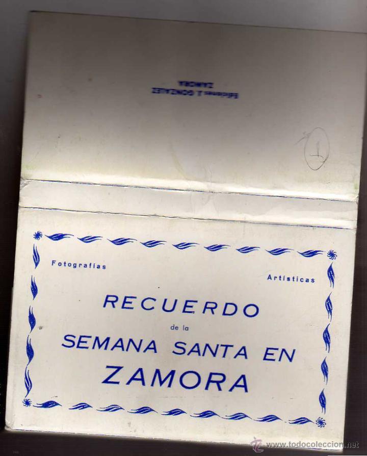 FOTOGRAFÍAS ARTÍSTICAS. RECUERDO DE LA SEMANA SANTA EN ZAMORA. 30 POSTALES (Postales - España - Castilla y León Antigua (hasta 1939))