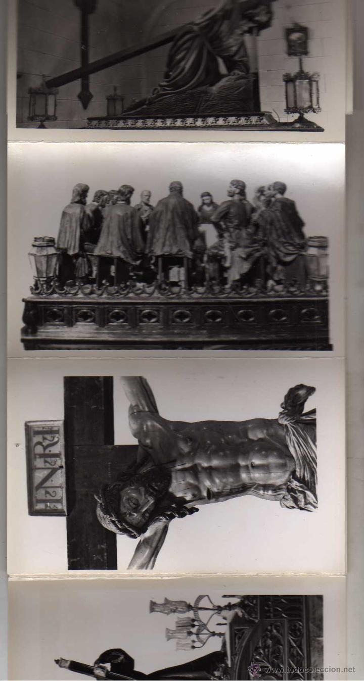 Postales: Fotografías artísticas. Recuerdo de la Semana Santa en Zamora. 30 postales - Foto 2 - 48195118