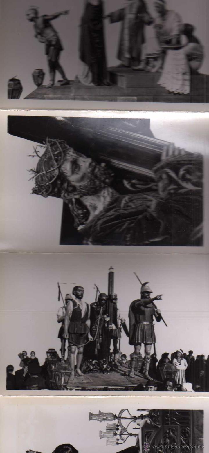 Postales: Fotografías artísticas. Recuerdo de la Semana Santa en Zamora. 30 postales - Foto 3 - 48195118