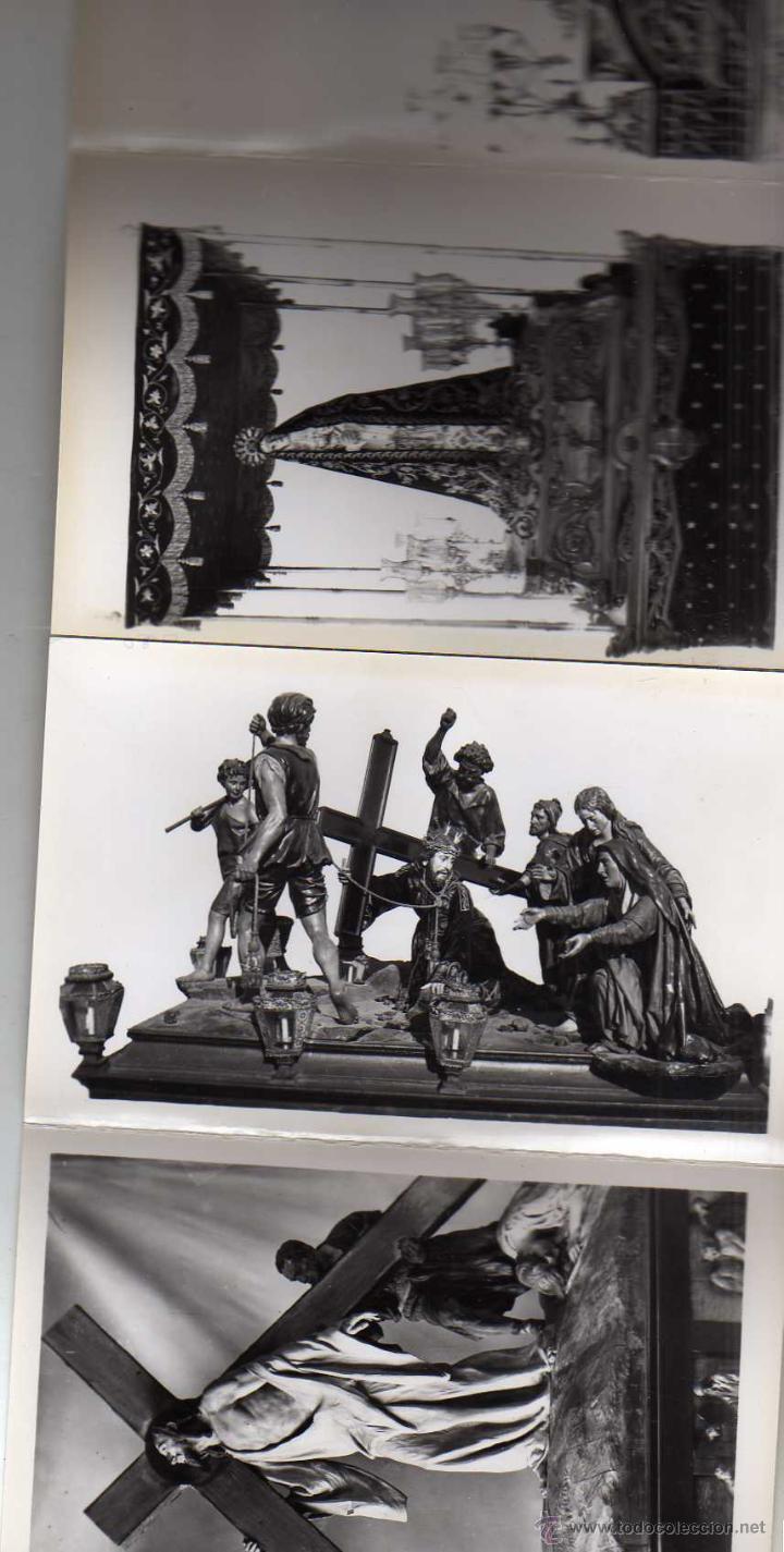 Postales: Fotografías artísticas. Recuerdo de la Semana Santa en Zamora. 30 postales - Foto 4 - 48195118