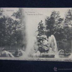 Postales: POSTAL SIN CIRCULAR LA GRANJA FUENTE DE LA FAMA ED FOTOTÍPIA J. ROIG BAZAR BRUN. Lote 48258873