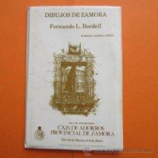 Postales: POSTAL - ZAMORA - CATEDRAL SANTA MARIA NUEVA MORAL SAYAGO TORO - BLOT 7 POSTALES DIBUJO BORDELL. Lote 48333096