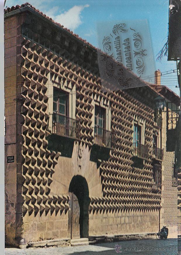 POSTAL - SEGOVIA - CASA DE LOS PICOS - GARRABELLA - CIRCULADA EN 1972 (Postales - España - Castilla y León Moderna (desde 1940))