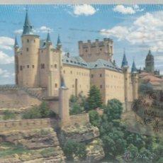 Postales: POSTAL - SEGOVIA - ALCAZAR - GARRABELLA - CIRCULADA EN 1972. Lote 48355719