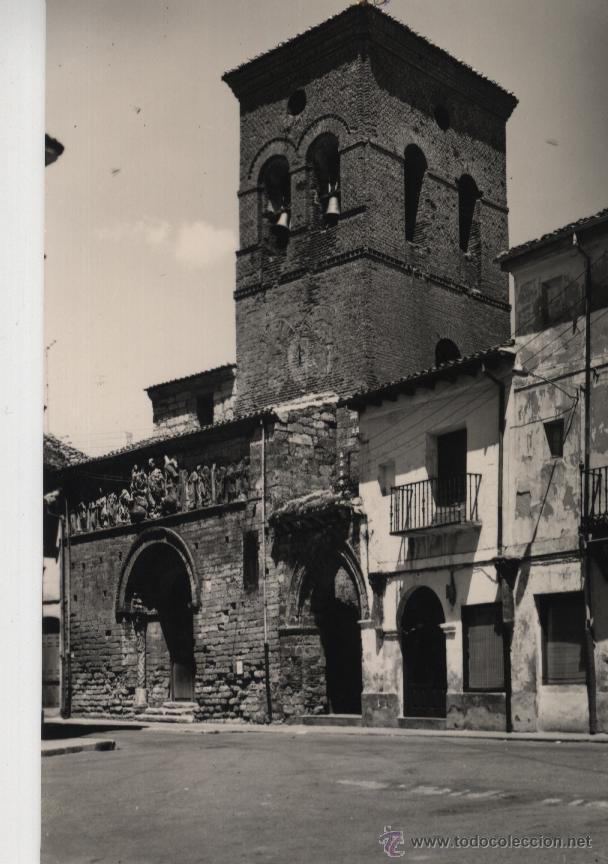 POSTAL CARRIÓN DE LOS CONDES ( PALENCIA) , IGLESIA DE SANTIAGO (Postales - España - Castilla y León Moderna (desde 1940))