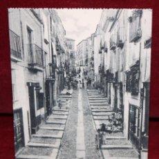 Postales: ANTIGUA POSTAL DE ZAMORA. CALLE DE BARRABÁS. COLECCIÓN S. GARCÍA VILAPLANA. SIN CIRCULAR. Lote 48374247