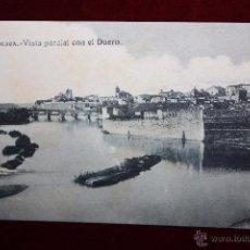 Postales: ANTIGUA POSTAL DE ZAMORA. VISTA PARCIAL CON EL DUERO. COLECCIÓN S. GARCÍA VILAPLANA. SIN CIRCULAR. Lote 48374276