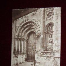 Postales: ANTIGUA POSTAL DE ZAMORA. PUERTA DEL S. XII EN LA CATEDRAL. COLEC. S. GARCÍA VILAPLANA. SIN CIRCULAR. Lote 48374478