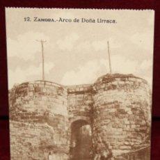 Postales: ANTIGUA POSTAL DE ZAMORA. ARCO DE DOÑA URRACA. COLECCIÓN S. GARCÍA VILAPLANA. SIN CIRCULAR. Lote 48374690