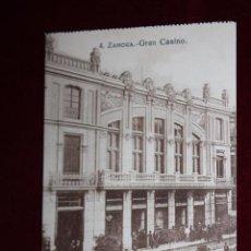Postales: ANTIGUA POSTAL DE ZAMORA. GRAN CASINO. COLECCIÓN S. GARCÍA VILAPLANA. SIN CIRCULAR. Lote 48374953