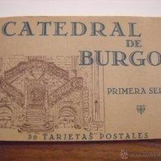 Postales: 30 TARJETAS POSTALES DE BURGOS.. Lote 48657310