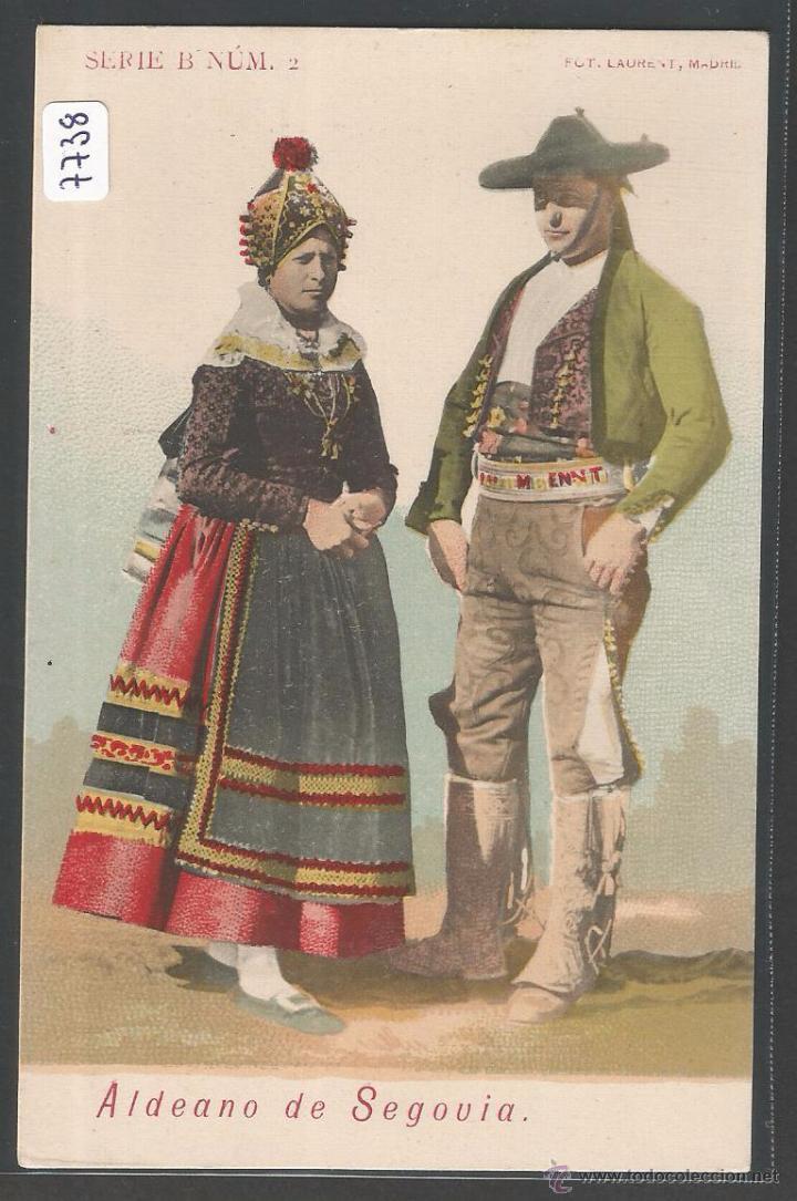 SEGOVIA - ALDEANOS DE SEGOVIA - P7738 (Postales - España - Castilla y León Antigua (hasta 1939))