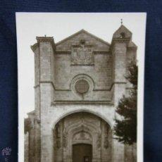 Postales: POSTAL AVILA SANTO TOMAS FACHADA PRINCIPAL NO CIRCULADA. Lote 49115148