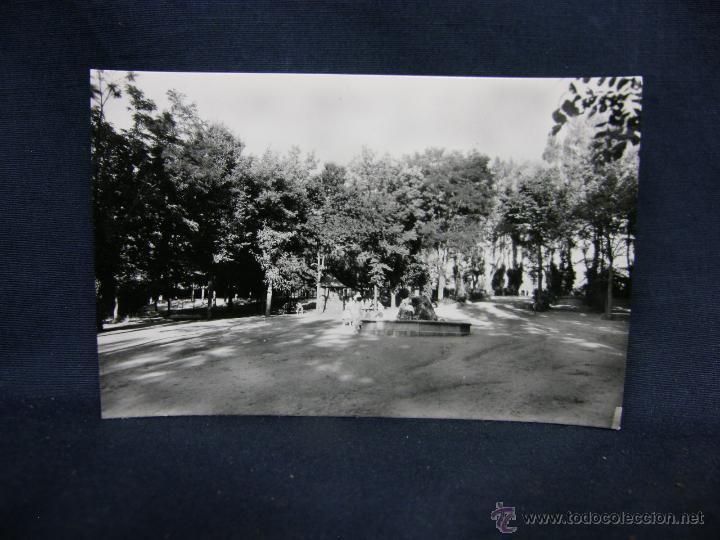 POSTAL 3 EL ESPINAR SEGOVIA INTERIOR PARQUE CIPRIANO GEROMINI H ARTISTICA ESPAÑOLA NO CIRCULADA (Postales - España - Castilla y León Antigua (hasta 1939))
